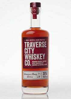 Traverse City American Cherry Edition Whiskey