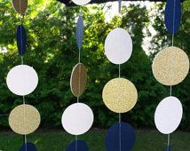 blush and navy and gold wedding crafts - Recherche Google