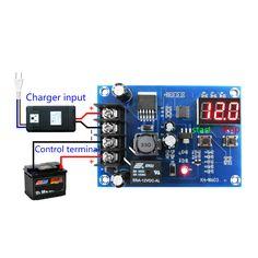CNC Batteria Batterie Al Litio Modulo Carica Controllata Interruttore di Protezione di Controllo di Carica Della Batteria 12-24 V
