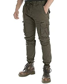 AKARMY Men's Cotton Casual Military Army Camo Combat Work Cargo Pants with 8 Pockets at Amazon Men's Clothing store Army Camo, Military Army, Winter Outfits Men, Winter Clothes, Tactical Cargo Pants, Men's Fashion Brands, Mens Clothing Styles, Work Pants, Mens Fashion