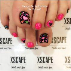 """#lovenails #heartnails #pinknails #valentinesdaynails"""