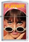 Zippo Playboy June 1965 Cover Satin Chrome Windproof Lighter NEW RARE