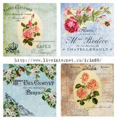 vintage collages