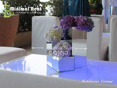 Mesa Luminosa Blanca, tecnología Leds RGB Inalambrica.
