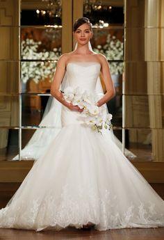 Romona Keveza Spring 2015 Bridal Collection - Belle The Magazine Romona Keveza Wedding Dresses, Wedding Dresses 2014, Wedding Dress Styles, Designer Wedding Dresses, Wedding Attire, Bridal Dresses, Wedding Gowns, Wedding Cakes, Bridal Fashion Week