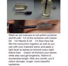 DIY Longer Eyelashes #Beauty #Trusper #Tip