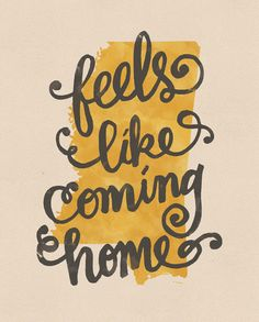 Feels Like Coming Home Mississippi print on Etsy, $16.00