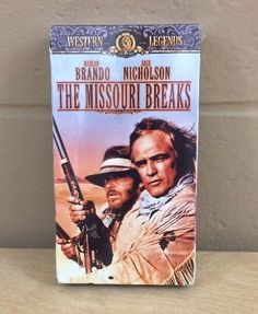 The Missouri Breaks Marlon Brando Jack Nicholson VHS Original Theatrical Trailer #NotApplicable