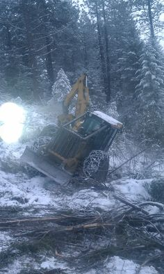Old deer tipy Logging Equipment, Heavy Equipment, Firewood Logs, Harvester, Big Trucks, Power Tools, Chevrolet, Woods, Deer
