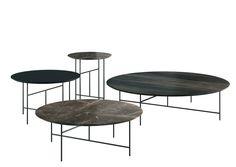 Contemporary style round coffee table SEN by DE PADOVA design Kensaku Oshiro Design Furniture, Fine Furniture, Table Furniture, Walnut Table, Oak Table, Low Tables, Small Tables, Round Coffee Table, Coffee Table Design