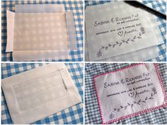 How to label a quilt