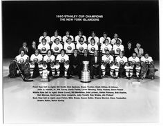 The 1980 Stanley Cup Champion New York Islanders.