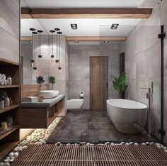 """""""Browse photos of Small Bathroom Tile Design. Find suggestions and inspiration for Small Bathroom Tile Design to enhance your house. Bathroom Spa, Small Bathroom, Bathroom Goals, Bathroom Storage, Bathroom Organization, Remodel Bathroom, Bathroom Colors, Bathroom Modern, Minimal Bathroom"""