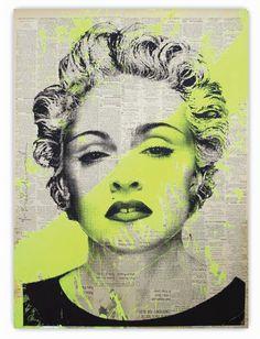Mr. Brainwash  Madonna OG