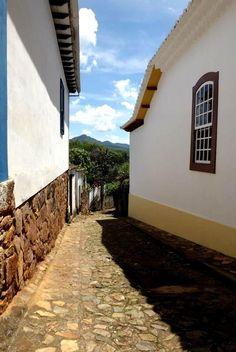 Rua em Tiradentes - MG
