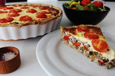 Greek Recipes, Mexican Food Recipes, Italian Recipes, Beef Pies, Savory Tart, Crunches, Quiche, Recipies, Food And Drink