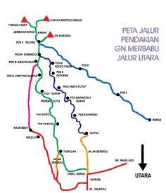 Catatan Harian Keong: Jalur Pendakian Gunung Merbabu