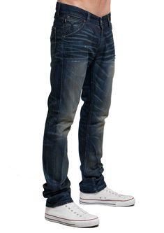 Men's Slim Skinny Jeans - Lennon (Galaxy Wash)