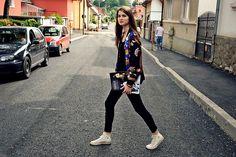 Zara Jacket, Converse Sneakers #ootd coordinate style styling コーデ コーディネート コンバース キャンバス スニーカー ハイカット ローカット 白 ホワイト white 黒 ブラック black