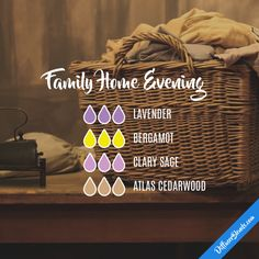 Family Home Evening - Essential Oil Diffuser Blend