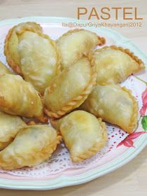 Dapur Griya Khayangan: Pastel Isi Ayam Sayuran Lemon Recipes, Baby Food Recipes, Snack Recipes, Dessert Recipes, Cooking Recipes, Rice Recipes, Brownie Desserts, Curry Puff Recipe, Quick Snacks For Kids