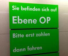 Die 100 lustigsten Schilder Deutschlands, weil man gönnt sich ja sonst nichts