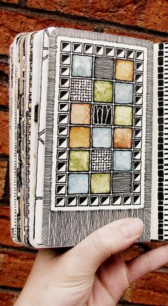 Moleskine 02, #080  Hmmm.  Some people knit. Some people read. Some doodle.  I could do all three. There simple isn't enough time :(