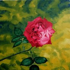 Original Floral Painting by Costin Cristian Istian Wood Canvas, Oil On Canvas, Canvas Art, Original Paintings, Original Art, Rose Flowers, Art Flowers, Is 11, Buy Art