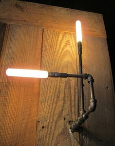 The Pointer Pipe-Light brings a little industrial magic! $150 @Paul Sciarra I think this is definitely your style!