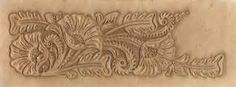 Leather Tooling Pattern Hand Tooled Leather Belt Pictures to pin on ...