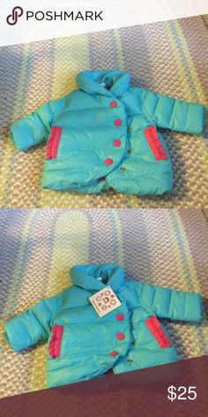 NWT Hanna Andersson puffer coat. NWT Hanna Andersson puffer coat. Perfect for ur lil princess. Hanna Andersson Jackets & Coats Puffers