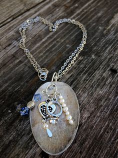 Upcycled Spoon Charm Necklace by DraisDesigns on Etsy, $10.00