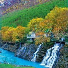Kelcyre, Permet - ALBANIA Beni tag dike #albaniaisbeautiful #albania #permet #nature #naturelovers #amazing #beautiful #place #view #panorama #water #river #tourism #culture #follow #share #peace #f4f