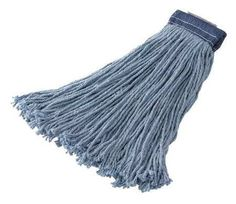 RUBBERMAID FGF55600BL00 Cut End Wet Mop,16 oz,5 in,PK 12 by Rubbermaid. $92.22. Wet Mop, Material Synthetic Blend, Dry Weight 16 to 22 oz., Blue, Launderable No, Headband Size 5 In., Length 6 In., Width 5 In., 4 Ply, For Use With Rubbermaid Commercial Products Mop Handles, Includes Mop, Package Quantity 12