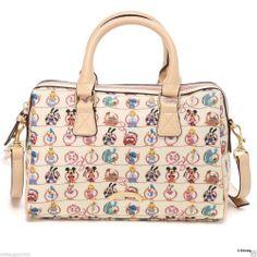 Samantha Thavasa x Disney Boston bag White Collaboration from JAPAN