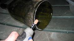 Remodelaholic | How to Make a Glass Wine Bottle Pendant Light DIY