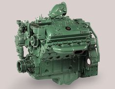 The Detroit Diesel Series 50 is an inline four-cylinder diesel engine, that was introduced in 1993 by Detroit Diesel. The Series 50 was developed from the ex. Big Rig Trucks, New Trucks, Cool Trucks, Custom Trucks, Detroit Diesel, Marine Diesel Engine, Toyota, Automobile, Truck Engine