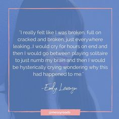 Trust me...you have to hear the rest of Emilly's story. She didn't hold back on the reality of what 4 years of infertility and a miscarriage is like. Her messy road had pain but it also had joy.  You can listen now at http://ift.tt/2xU0IYM or follow the link in the profile.    #messyroads #messy #lifeismessy #mystory #story #storytelling #anxiety #depression #postpartum #miscarriage #ihadamiscarriage #ectopicpregnancy #chemicalpregnancy #infertility #twins #triplets #stillborn #stillbirth…