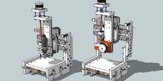whiteAnt 3D Printer/CNC Machine Kit  A 3D Printer that can also serve as a small scale CNC machine.