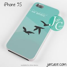 i am brave Phone case for iPhone 4/4s/5/5c/5s/6/6 plus