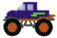 Perler beads truck
