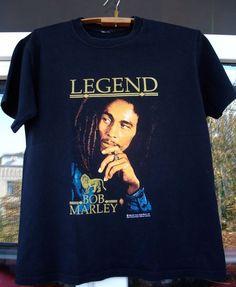 Bob Marley Legend T Shirt Rare Vintage 2005 Zion Rootswear t-shirt black #ZionRootswear #GraphicTee