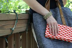 the mama clutch sewing tutorial