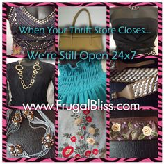Frugal Bliss Boutique. Trendy Fashion for Thriftanistas. www.frugalbliss.com #Vintage #Retro #retrofashion #vintageshopping #onlinethriftshop #onlineshop #boutique #lookforless #womens #clothing #under20 #budget #style #recession #fashionista #frugalbliss #thrift #beauty
