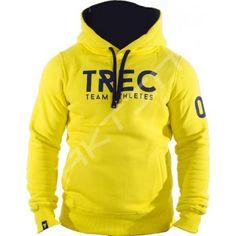 Trec Team Athletes mikina žlutá