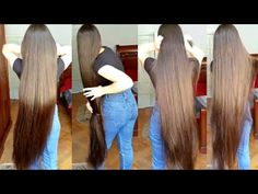 Real-Life 'Rapunzel' Reveals Secret Behind Her Incredibly Long Hair - YouTube