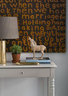 "Kristina Lifors Interior Design - ""Bachelor pad"" details. Photo : Anne Nyblaeus"