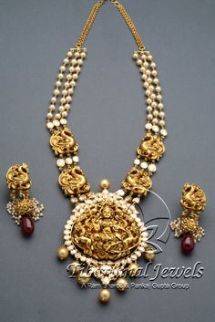 Flat Diamond Necklace Set   Tibarumal Jewels   Jewellers of Gems, Pearls, Diamonds, and Precious Stones