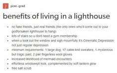 i want to live in a lighthouse gg hgd