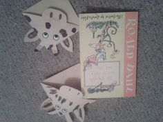 Roald Dahl Day 2013 - The Giraffe the Pelly and Me Bookmark